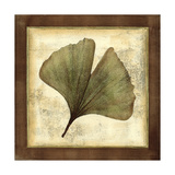 Rustic Leaves IV - No Crackle Art by  Vision Studio