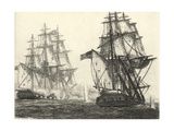 Antique Ships III Prints