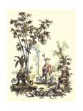 Oriental Garden II Print