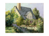 Cotswold Cottage I Posters by Mary Jean Weber