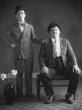 Oliver Hardy, Stan Laurel Fotografisk trykk