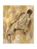 Nude Figure Study VI Print by Jennifer Goldberger