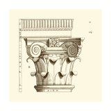 Small Corinthian Detail I Posters by  Vision Studio