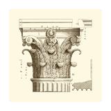 Small Corinthian Detail II Giclée-Premiumdruck von  Vision Studio