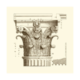 Small Corinthian Detail II Prints by  Vision Studio