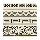 Ornamental Tile Motif III Posters by  Vision Studio