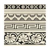 Ornamental Tile Motif III Premium Giclee Print by  Vision Studio