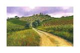 Camino en Toscana Pósters por Michael Swanson