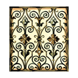 Ironwork I - No Crackle Prints by  Vision Studio
