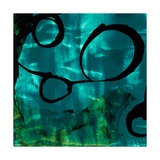 Turquoise Element II Prints by Sisa Jasper