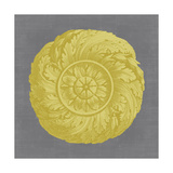 Gilded Rosette I Prints by  Vision Studio
