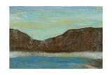 Pacific Rim I Art by Jennifer Goldberger