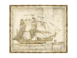 Small Ghost Ship I Premium Giclee Print by  Vision Studio