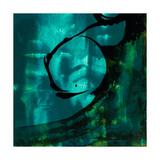 Turquoise Element III Poster von Sisa Jasper