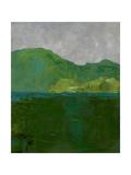Blue Ridge II Print by Chariklia Zarris