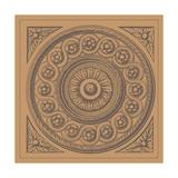 Terra Cotta Tile V Giclee Print by Vision Studio