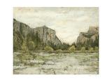 Western Landscape II Print by Megan Meagher