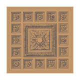 Terra Cotta Tile IV Print by  Vision Studio