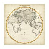1812 Eastern Hemisphere Plakaty autor Pinkerton