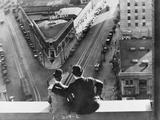 Oliver Hardy, Stan Laurel, Liberty, 1929 Fotografisk tryk
