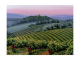 Chianti Dusk Prints by Michael Swanson