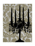 Small Candelabra Silhouette I Poster by Ethan Harper
