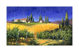 Tuscan Evening Art by Michael Swanson