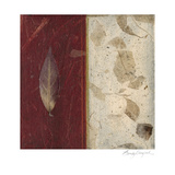 Earthen Textures XI Print by Beverly Crawford