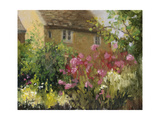 Cotswold Cottage IV Art by Mary Jean Weber