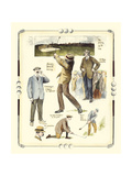 Walton Heath Golf Tournament Posters by Frank Reynolds