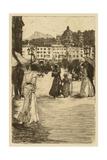 Town Square Prints