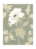 Small Peony Elegance I Prints by Nancy Slocum