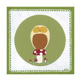 Owl Cameo III Prints by Erica J. Vess
