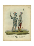 Men in Armour II Art by Samuel Rush Meyrick
