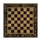 Small Antique Gameboard I Premium Giclee Print by  Vision Studio