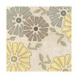 Pastel Pinwheels II Reproduction giclée Premium par Karen Deans