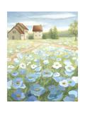 Blue Meadow Affiches par Megan Meagher