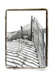 Beach Scape IV Giclee Print by Laura Denardo