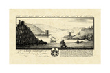 Vintage Fowey Castle Premium Giclee Print by Nathaniel Buck