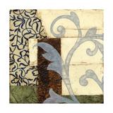 Quilted Scroll I Art by Jennifer Goldberger