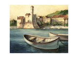 Mediterranean Harbor II Prints by Ethan Harper