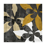 Bloomer Squares IV Premium Giclee Print by James Burghardt