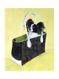 Papillon Carry-On Premium Giclee Print by Carol Dillon