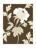Small Neutral Peony Elegance II Prints by Nancy Slocum