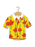 Beach Wear I Premium Giclee Print
