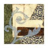 Quilted Scroll II Posters by Jennifer Goldberger