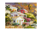 Beach Cottage Community Prints by Erin Dertner