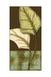 Small Palm Leaf Arabesque I Premium Giclee Print by Erica J. Vess