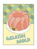Gelatin Mold Prints