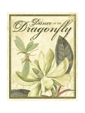 The Dance of Dragonfly I Premium Giclee Print by Kate Ward Thacker